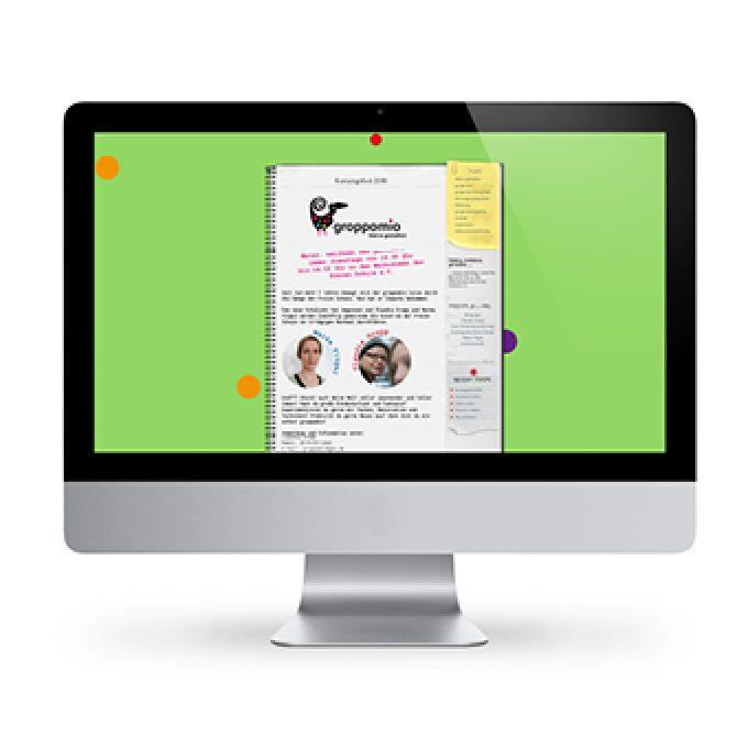 Webdesign für groppomio